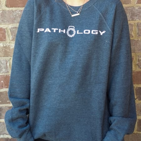 Pathology Apparel Charcoal Softest Sweatshirt