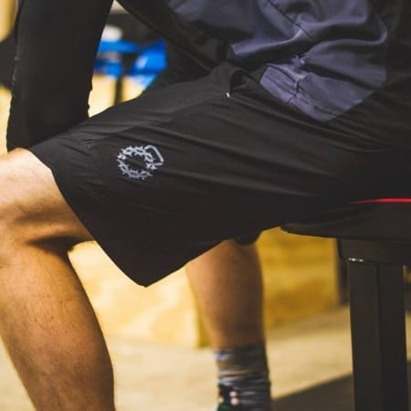Side view of the Men's V2.0 Flyweight Shorts